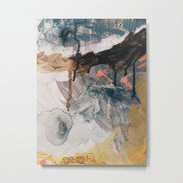 Paint 2 Metal Print
