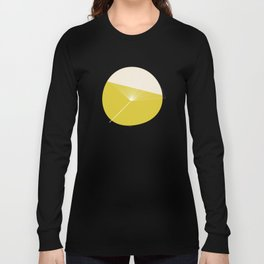 Retro Mod Flowers #3 by Friztin Long Sleeve T-shirt