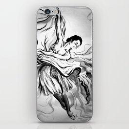 dancing woman iPhone Skin