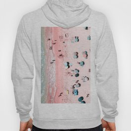 Ocean Print, Beach Print, Wall Decor, Aerial Beach Print, Beach Photography, Bondi Beach Print Hoody