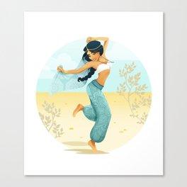 Festival Jasmine Canvas Print
