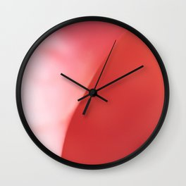 The Pink Shell Wall Clock