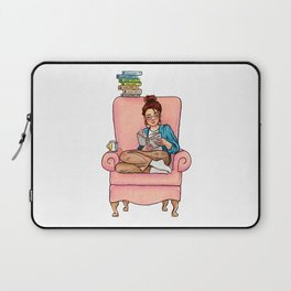 Reading fictional characters: Cath Laptop Sleeve