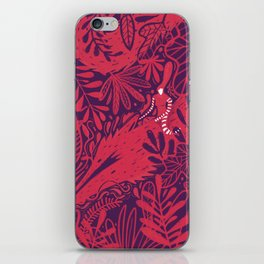 Riding a dragon iPhone Skin