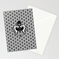 Detective's Damask Stationery Cards