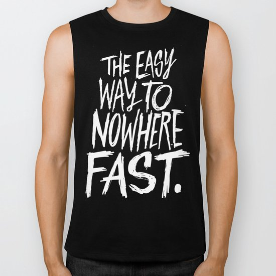 The Easy Way To Nowhere Fast Biker Tank