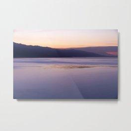 Malibu Sunrise Colors PD002 Metal Print