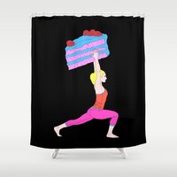 balance Shower Curtains featuring Balance by Tyler Spangler