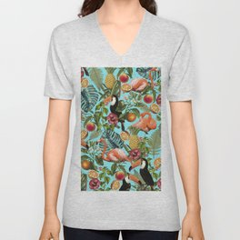 The Tropics || #society6artprint #society6 Unisex V-Neck