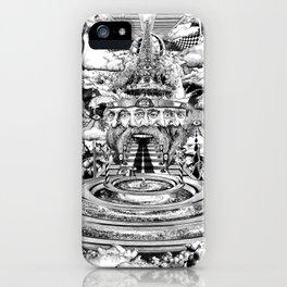 AL BUEN TIEMPO, MALA CARA iPhone Case