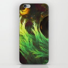 A Seaweed's DeepDream of Faded Fractal Fall Colors iPhone Skin