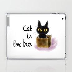 Cat in the box Laptop & iPad Skin