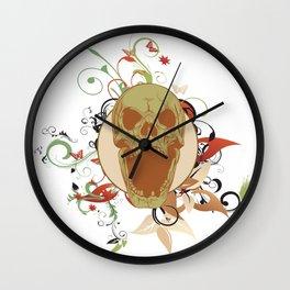 Laughing Skull Wall Clock
