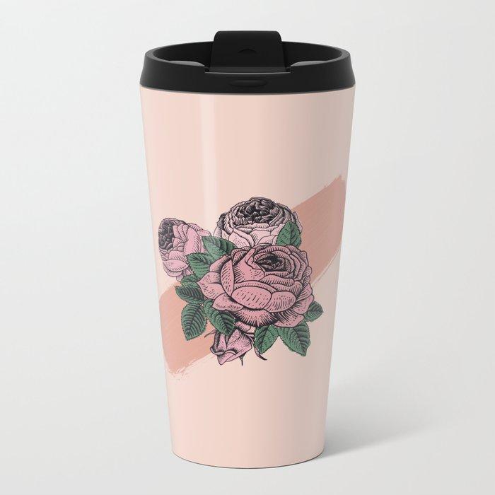 Floralia Metal Travel Mug