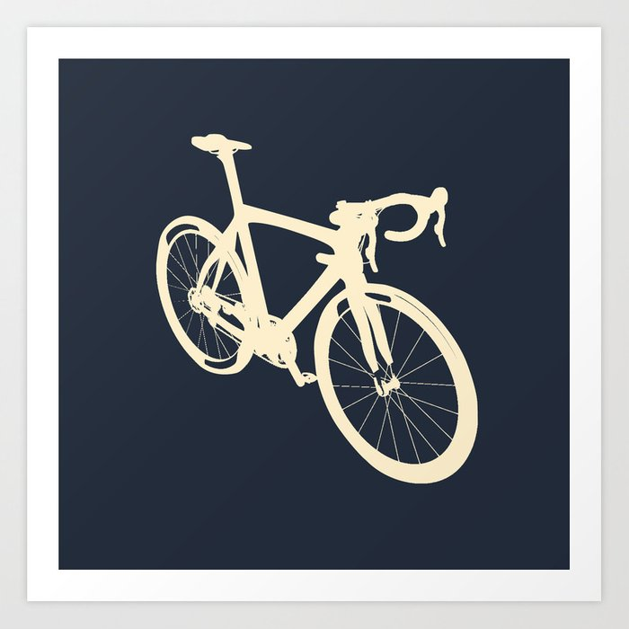 Bicycle - bike - cycling Art Print