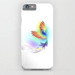 Splendid Rainbow Hummingbird iPhone Case