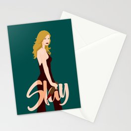 Slay Buffy! Stationery Cards