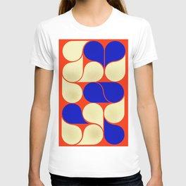 Mid-century geometric shapes-no10 T-shirt