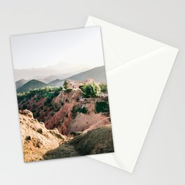 Travel photography Atlas Mountains Ourika | Colorful Marrakech Morocco photo Stationery Cards