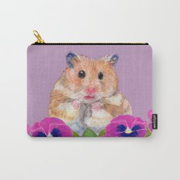Cute Little Hamster Carry-All Pouch