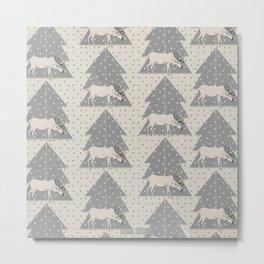 Pattern Reno Metal Print