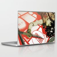 manga Laptop & iPad Skins featuring MANGA! by Toni Infante