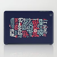risa rodil iPad Cases featuring Fandom Life by Risa Rodil