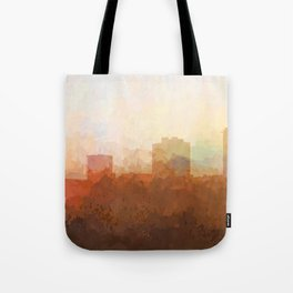 New Orleans, Louisiana Skyline - In the Clouds Tote Bag