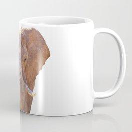 Elephant illustration Coffee Mug