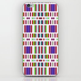 Retro Bar Pattern iPhone Skin