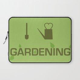 I heart Gardening Laptop Sleeve