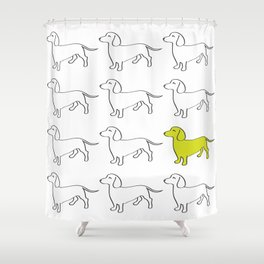 Weenie Collective Shower Curtain