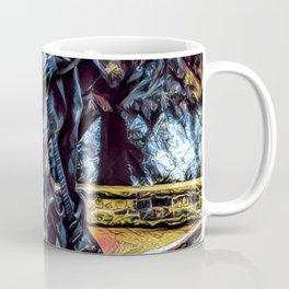 Stevie Ray Vaughan Statue - Austin, Texas - Graphic 1 Coffee Mug