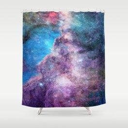 Gaseous Galaxy - Space Dust Shower Curtain