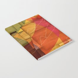Colorful Pattern Notebook