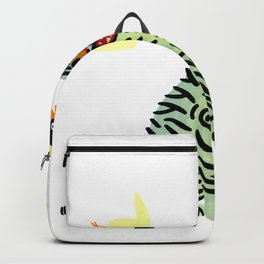 Korean traditional tiger painting by yoonhyehe Backpack