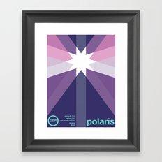 polaris single hop Framed Art Print