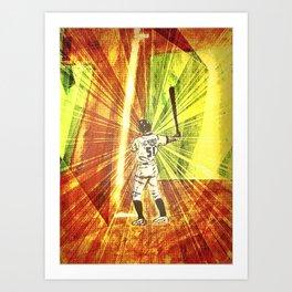 Ichiro Art Print