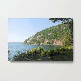 Roger's Rock on Lake George, NY Metal Print