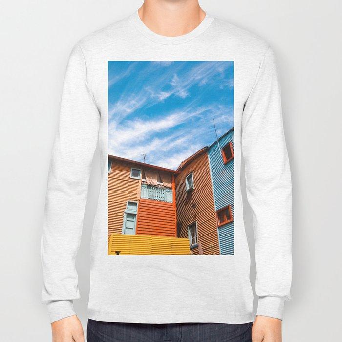 Colors at Caminito Long Sleeve T-shirt