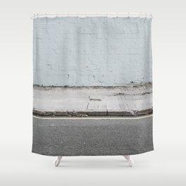 [ - ] Wang Hoi Road, Hong Kong Shower Curtain