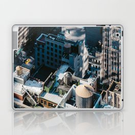 New York sky view Laptop & iPad Skin