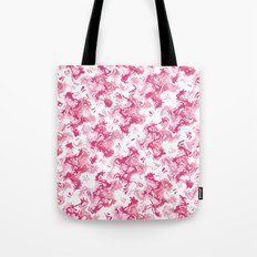 Pink Fantasy Digital Painting Tote Bag