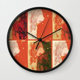 TedWarhol No.3 Wall Clock