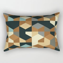 Abstract Geometric Artwork 54 Rectangular Pillow
