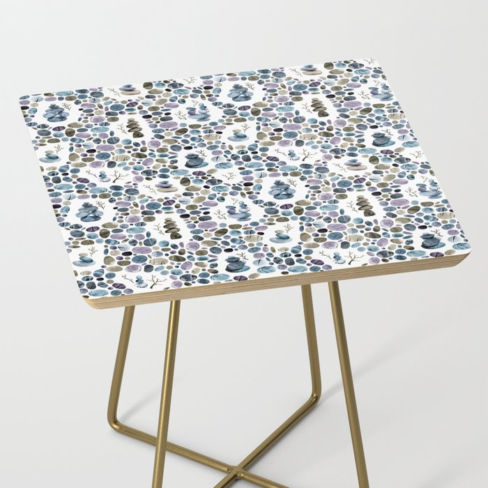 Wishing stones and cairns Side Table
