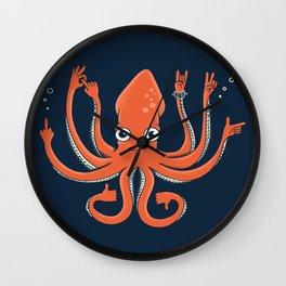Octopus Signals Wall Clock