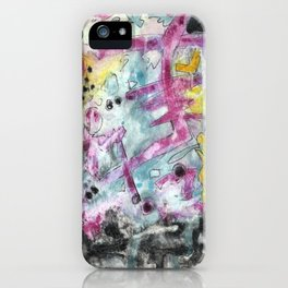 Abstract Art - Moving iPhone Case