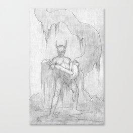 Speak of the Devil Canvas Print