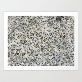 TEXTURES -- Riverstone 3 Art Print